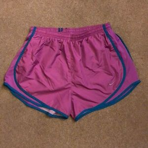 Women's Pink Nike Running Shorts